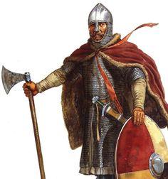 Saxon Housecarl an elite warrior and bodyguard