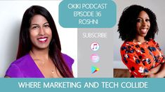 Where Marketing and Tech Collide with Roshni Business Motivation, Business Marketing, Technology, Health, Travel, Tech, Viajes, Health Care, Tecnologia