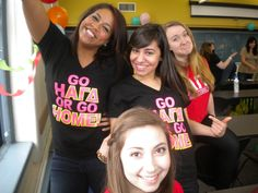 Go HΑΓΔ Or Go Home!    Heyyyy I know these girls ;) @Evon Mikhail, @Angeline Jones, @Tali Merdler!