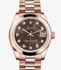 Rolex Datejust Lady 31 Watch: 18 ct Everose gold - 178245