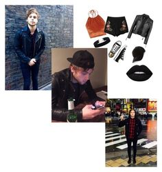 """Lucas Robert Hemming {5Seconds of summer}"" by nymphet-lolita on Polyvore featuring The Ragged Priest, Chicnova Fashion, Converse, Boohoo and Lime Crime"