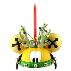 Limited Edition Reindeer Pluto Ear Hat Ornament. LOVE Disney ornaments!! So excited for Christmas :)