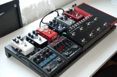 great looking musicom board #pedalboard