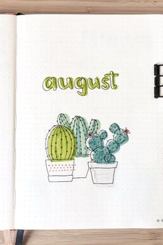 Need a new monthly cover idea for your bullet journal? Check out these super cute August examples for inspo! drawings 45 Best August Monthly Cover Ideas For Summer Bujos - Crazy Laura Bullet Journal August, Bullet Journal School, Bullet Journal Inspo, Minimalist Bullet Journal, Bullet Journal Cover Ideas, Bullet Journal Headers, Bullet Journal Writing, Bullet Journal Aesthetic, Journal Covers