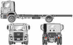 Blueprints > Trucks > Volkswagen > Volkswagen Constellation E Volkswagen Models, Woodworking Projects For Kids, Truck Design, Car Drawings, Motorhome, Constellations, Scale Models, Trucks, Tech