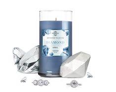 April Birthstone: Diamond Candle & Bath Bomb Gift Set