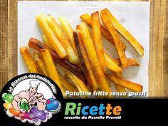 Patatine fritte senza grassi