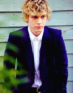 Evan Peters <3 #AmericanHorrorStory