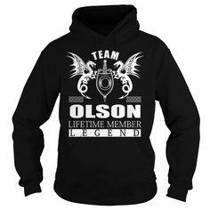 Team OLSON Lifetime Member - Last Name, Surname TShirts