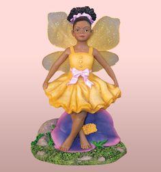 FAIRIES-Child Fairy in Yellow