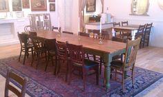 Custom Handmade Farmhouse Table for Pizzeria Bianco at Town & Country Plaza Phoenix