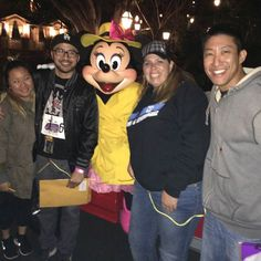 Tied to coworkers for a scavenger hunt at Disneyland...I'm the weakest link :( #minniemoonlightmadness #minnies2016 #emptydisneylandiscreepy #disneyland #followthatmouse by chuangbert