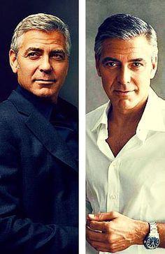 George Clooney - silver fox