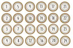 Numéros pour calendrier de l'Avent Père Noël à trotinette Advent Calendars For Kids, Diy Advent Calendar, Countdown Calendar, Christmas Countdown, Christmas Time, Christmas Crafts, Matchbox Crafts, Do It Yourself Baby, Calendar Stickers