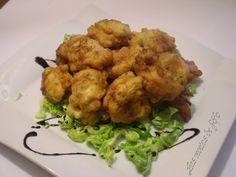 Las recetas de Fófo: Buñuelos de coliflor