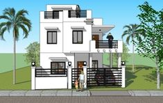 PRICE: House Design Plan Purchase: Sets of Blueprint Signed & Sealed) - Only Construction Contract: P Low-End/Budget P Mid-Range/Standard P High-End/Custom 2 Story House Design, Modern Small House Design, House Front Design, Roof Design, Home Building Design, Building A Deck, Home Design Plans, Dream House Plans, Small House Plans