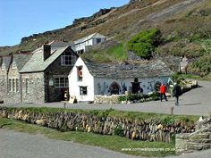 A very old cottage at Boscastle