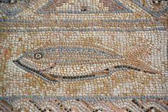 Roman mosaic in Paphos, Cyprus.