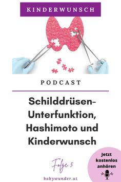 Heute ist Schilddrüsenexpertin Hannah Hauser bei mir im Podcast zu Gast. Hannah erklärt dir, was der Unterschied zwischen einer Schilddrüsen-Unterfunktion und Hashimoto ist und wie sich eine Schilddrüsenunterfunktion auf deinen Kinderwunsch auswirken kann. Zudem erhältst du Tipps, wie du deine Schilddrüse ganzheitlich in Balance bringen kannst. Kinderwunsch I Podcast I Hormone I Schilddrüse I Schwanger werden I Kinderwunsch Coach #babywunder Baby Wunder, Hashimoto, Interview, Getting Pregnant Tips, Artificial Insemination