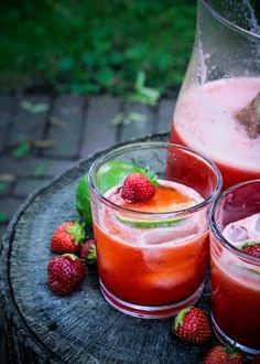 Strawberry Lime Agua Fresca