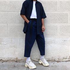 "1f7fbdb08c20 Ichem Moose on Instagram  ""navy is the new black!"" AlcePaisTênis · DestilosDad  Shoes"