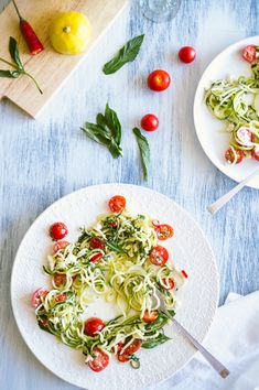 Leave out the Feta from this recipe and you've got a refreshing Whole30 compliant meal! #whole30 #zoodles #zucchininoodles
