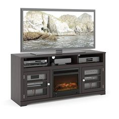 67a01c6296 Sonax F-602-BWT West Lake 60-Inch Fireplace Bench in Mocha Black