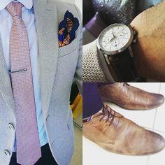 Smart summer #mensblazer #mensblazer #gentlemanstyle #gentleman #dapper #bosswatch #hugoboss #mensshoes #mensfashion