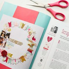 Oh that magic of seeing your work printed on a magazine it's so exciting every single time! I'm on the latest issue of Creativity magazine sharing an idea on how to use your scraps to create an eye catching design. #ziniaamoiridou #abstractinspiration #scrapbook #scrapbooking #memorykeeping #scrapbookprocess #scrapbookingprocess #scrapbooklayout #scrapbookinglayout #scrap #creativity #docrafts #creativitymagazine