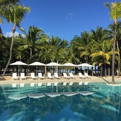 Poolside at The Ravenala Attitude in Turtle Bay