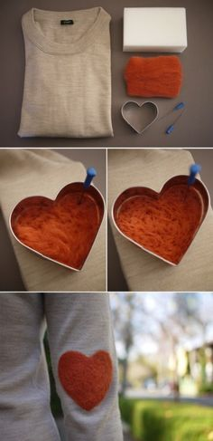 So cute going to try this one day it's super easy. Link: http://honestlywtf.com/diy/diy-elbow-patch/