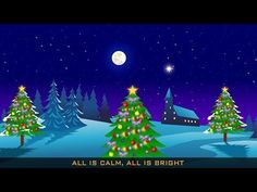 ▶ Silent Night Holy Night | Christmas Carols | Christmas Songs for Children - YouTube