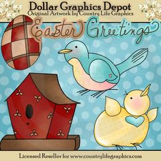 Easter Greetings - Clip Art - $1.00 : Dollar Graphics Depot, Your Dollar Graphic Store