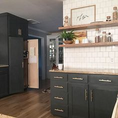 Create a coffee station within a small pantry as well an appliance garage…