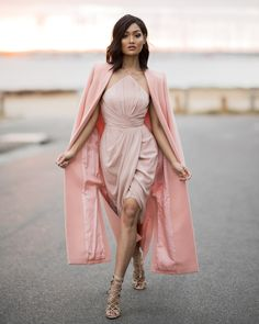 Micah-Gianneli-Westfield-Own-Your-Story-Witchery-Zimmermann-Wanted-Shoes-Australian-Fashion-Label-Street-Style-Editorial-Rose-Nude-Coat-Dress-David-Jones