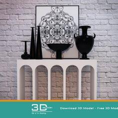 nice 291. Decorative set 3D model Free Download Download here: https://3dmili.com/decoration/decorative-set/291-decorative-set-3d-model-free-download.html