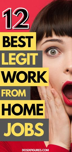 Want to work from home? Find the best legit work from home jobs here to start making money from home. Ways To Earn Money, Earn Money From Home, Earn Money Online, Way To Make Money, Legit Work From Home, Work From Home Tips, Online Job Opportunities, Career Change, Online Work