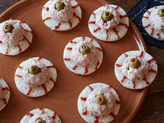 Turn a traditional ham salad on white bread into a bloodshot eyeball sandwich.