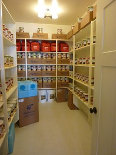 Storage Room  Oh How I Want A Room Like This!! Food Storage Rooms