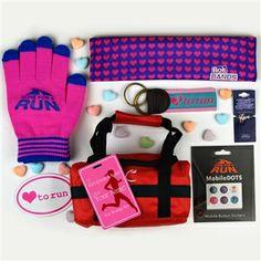 Runner Girl Valentine's Day Gift Bag