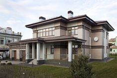 Индивидуальные дома 300-2000 м² в современном стиле