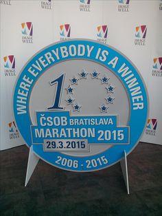 Frézovanie do tvaru, ČSOB maratón