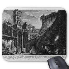 Giovanni Piranesi-Forum Nervae Mouse Pad