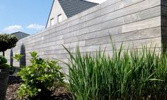 Tuinhoutmarkt | Tuinwand Padouk - 4zijdig tandgroef Outdoor Projects, Outdoor Decor, Roof Trusses, Home Reno, Garden Inspiration, Sweet Home, New Homes, House, City Gardens