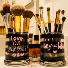Guess I am feeling crafty lately with another craft for you. I have a super simple DIY to spice up your makeup vanity with your very own makeup brush holders. This is seriously so simple to do and …