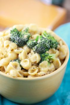 Creamy Shells n' Cheese with Chicken and Broccoli