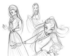Korean Girl Character design , Characterconceptart , Characterdrawing, disneyconceptart, Disneyart, Soldiers, Commandos Disney concept art, character design, Character concept art, Character drawing,