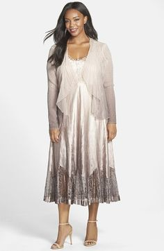 Plus Size Charmeuse Dress – fashion dresses