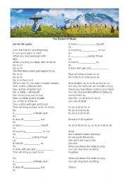 English worksheet: The Sound of Music - Do Re Mi | Musical MAYnia