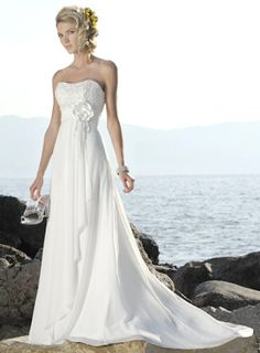 gourges weeding dress! perfect for the beach